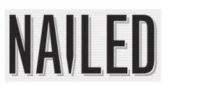 Nailed logo wide